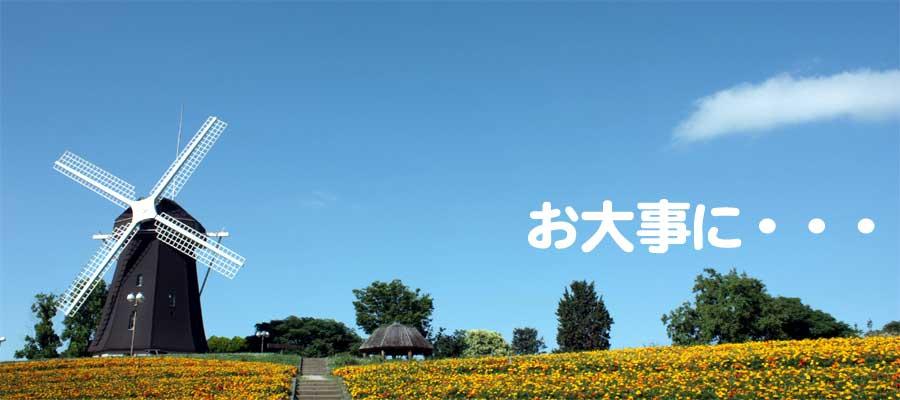 鶴見緑地公園の風車